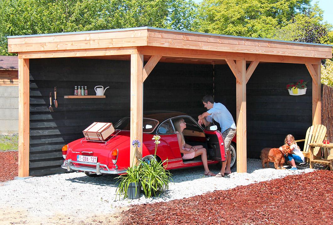 Bergingen, carports en garages