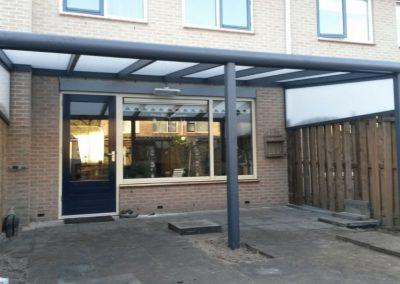Maatwerk aluminium overkapping Kampen #4