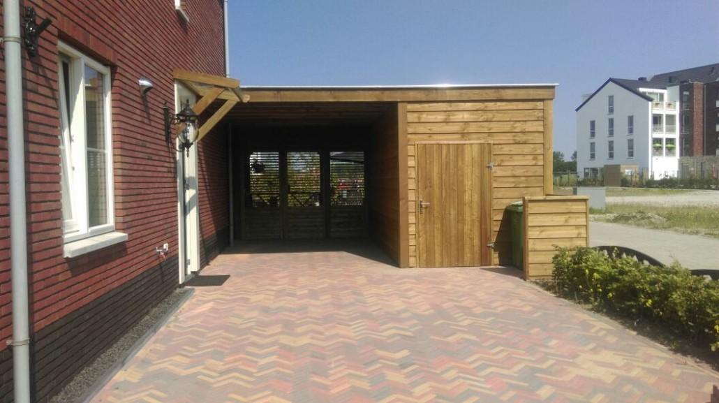 Maatwerk carport + berging + veranda #58