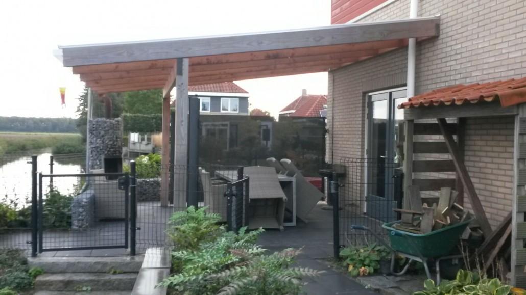 Maatwerk veranda met polycarbonaat, Emmeloord #71