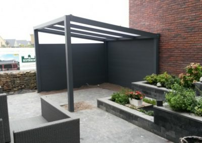 Aluminium vrijstaande veranda Dronten #74
